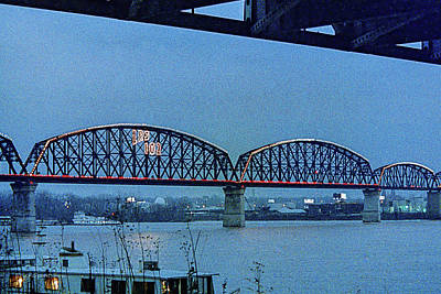 Photograph - Big Four Bridge by Erich Grant