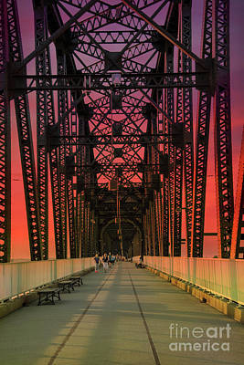 Photograph - Big Four Bridge by Juli Scalzi