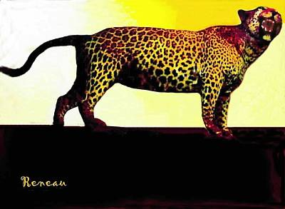 Photograph - Big Game Africa - Leopard by Sadie Reneau