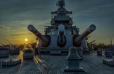Photograph - Big Guns At Sunset by Denis Lemay