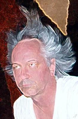 Big Hair Photograph - Big Hair by Ron Bissett