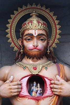 Puja Photograph - Big Hanuman Ji, Rishikesh by Jennifer Mazzucco
