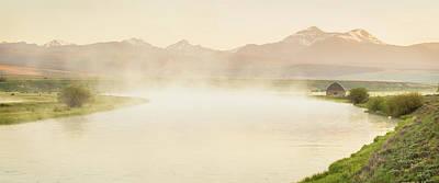 Photograph - Big Hole River Panorama by Scott Wheeler