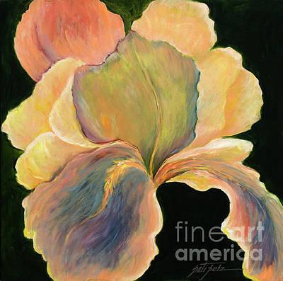 Painting - Big Iris by Pati Pelz