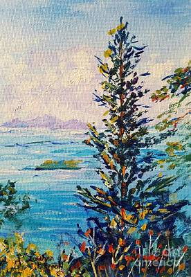 Painting - Big Island Istanbul by Lou Ann Bagnall