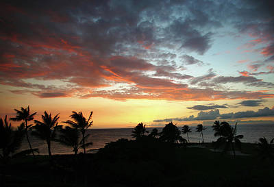 Photograph - Big Island Sunset #2 by Anthony Jones