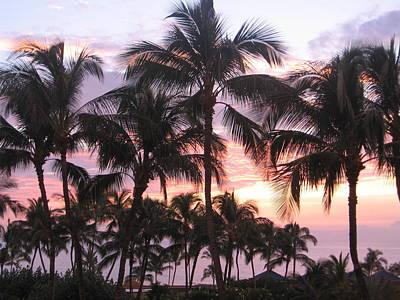 Photograph - Big Island Sunset 3 by Karen J Shine
