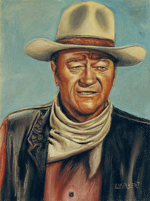 Pastel - Big Jake by Dave Luebbert