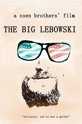 Big Lebowski Movie Poster Original
