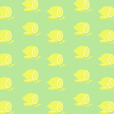 Big Lemon Flavor Art Print by Little Bunny Sunshine