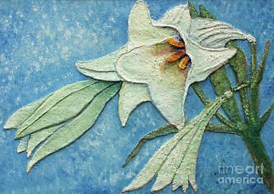 Lilium Painting - Big Lily by Kristian Leov