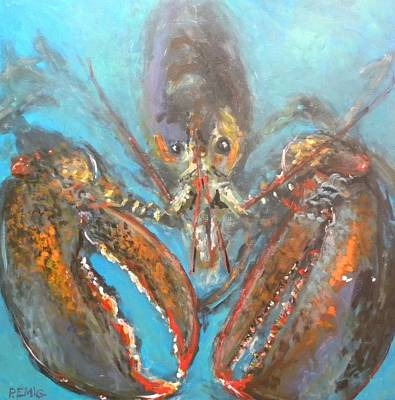 Painting - Big Lobster by Paul Emig
