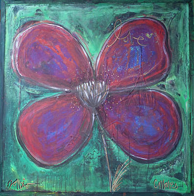 Painting - Big Love Poppy by Laurie Maves ART