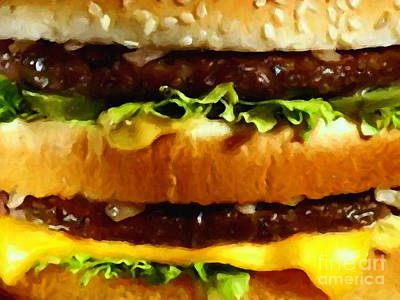 Big Mac - Painterly Art Print