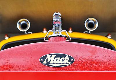 Photograph - Big Mack Truck by Luke Moore