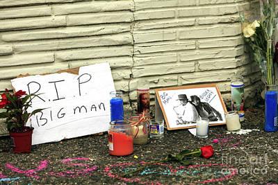 Photograph - Big Man Bigger Legacy by John Rizzuto