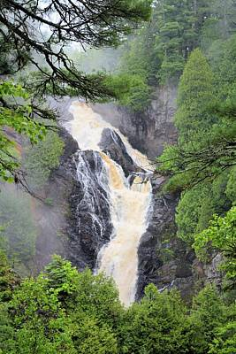 Photograph - Big Manitou Falls 2 by Bonfire Photography