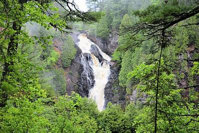 Photograph - Big Manitou Falls by Bonfire Photography