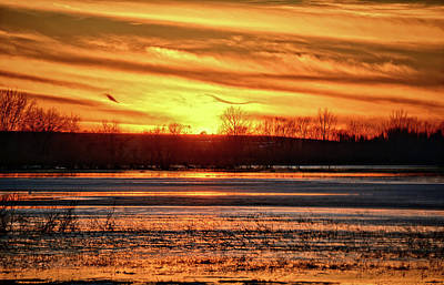 Photograph - Big Marsh Sunset by Bonfire Photography
