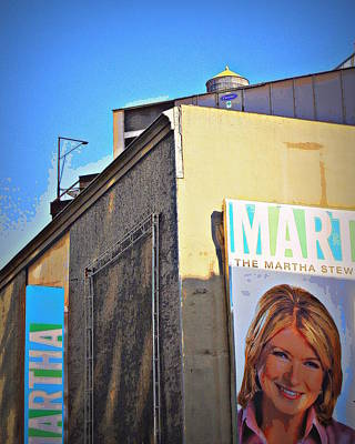 Big Martha Is Watching Art Print by Jan Mazziotta