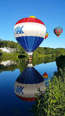 Photograph - Big Max Balloon On The Surface by Jeff Folger