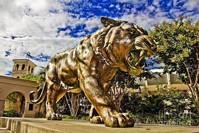 Louisiana State University Photograph - Big Mike by Scott Pellegrin