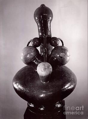 Sculpture - Big Mother by Robert F Battles