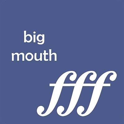 Digital Art - Big Mouth by David Bradley