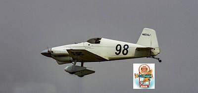Photograph - Big Muddy Air Race #98 by Jeff Kurtz