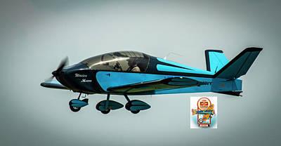 Photograph - Big Muddy Air Race Number 100 by Jeff Kurtz