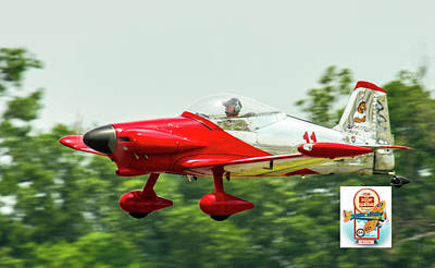 Photograph - Big Muddy Air Race Number 11 by Jeff Kurtz