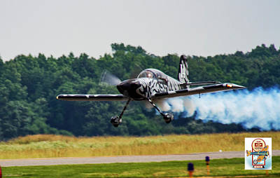 Photograph - Big Muddy Air Race Number 14 by Jeff Kurtz