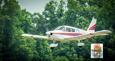 Photograph - Big Muddy Air Race Number 19 by Jeff Kurtz
