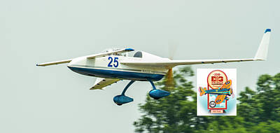 Photograph - Big Muddy Air Race Number 25 by Jeff Kurtz