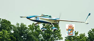 Photograph - Big Muddy Air Race Number 36 by Jeff Kurtz