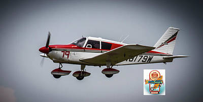 Photograph - Big Muddy Air Race Number 79 by Jeff Kurtz