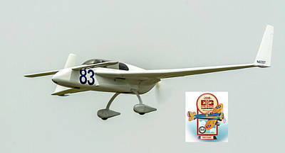 Photograph - Big Muddy Air Race Number 83 by Jeff Kurtz