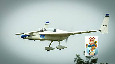 Photograph - Big Muddy Air Race Number 88 by Jeff Kurtz