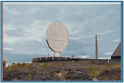 Mixed Media - Big Nickel Built In 1964 Cost Cad35000 At That Time Sudbury And Copper Cliff by Navin Joshi