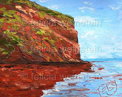 Painting - Big North by Felicia Weinstein