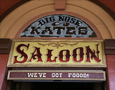 Photograph - Big Nose Kate's Saloon Tombstone by Mary Bedy