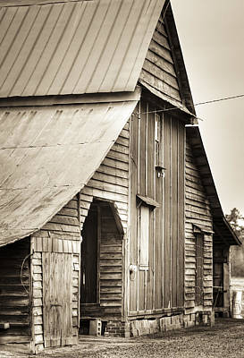 Big 'ol Barn Art Print by Andrew Crispi