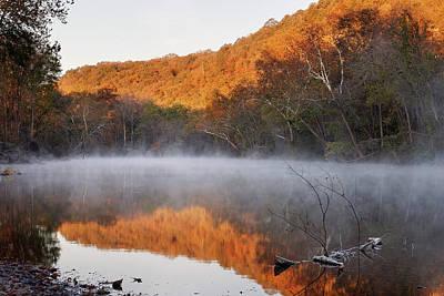Photograph - Big Piney Sunrise by Robert Charity