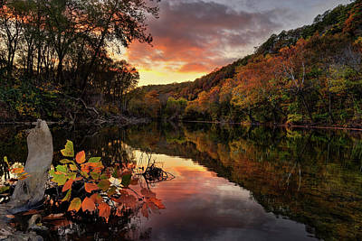 Photograph - Big Piney Sunset by Robert Charity