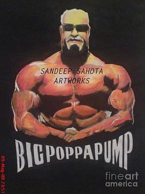 Intezaar Painting - Big Poppa Pump by Sandeep Kumar Sahota