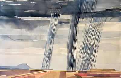 Painting - Ghost Ranch/big Rain IIi by Vaughan Davies