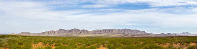 Photograph - Big Ranch Scenic Panorama by SR Green