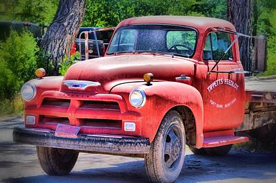 Photograph - Big Red by Jacqui Binford-Bell