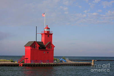 Photograph - Big Red by Jerry Bunger