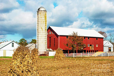 Big Red Pa Barn Art Print by Paul W Faust - Impressions of Light